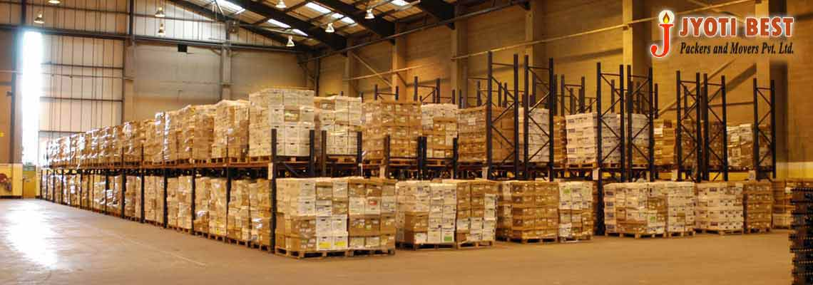 Jyoti Best Packers and Movers Pvt. Ltd. offer warehousing Service